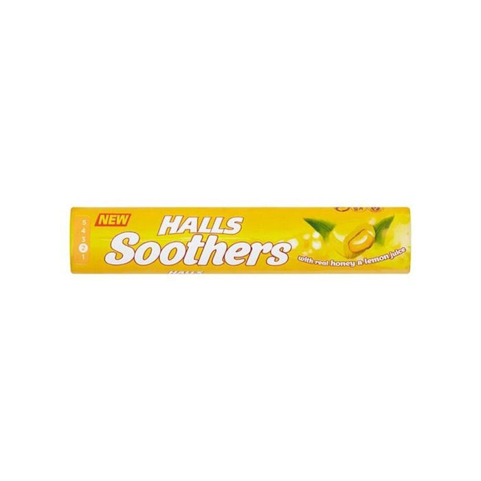 Halls Soothers Honey /  Lemon6/17