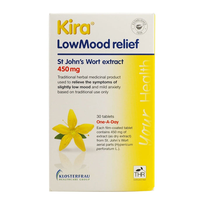Kira Low Mood Relief Tabs