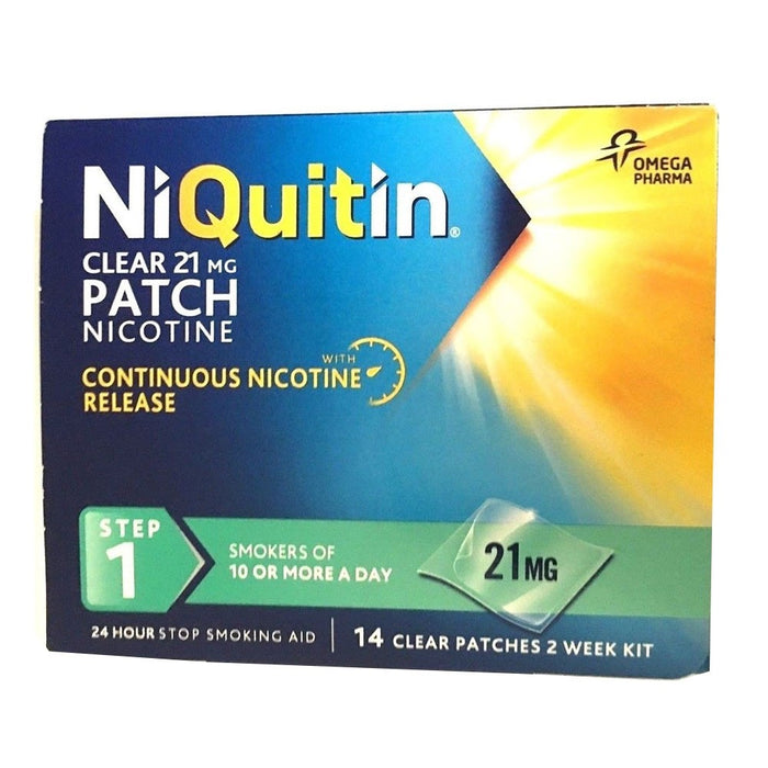 Niquitin Clear Patch 21mg 14 Day