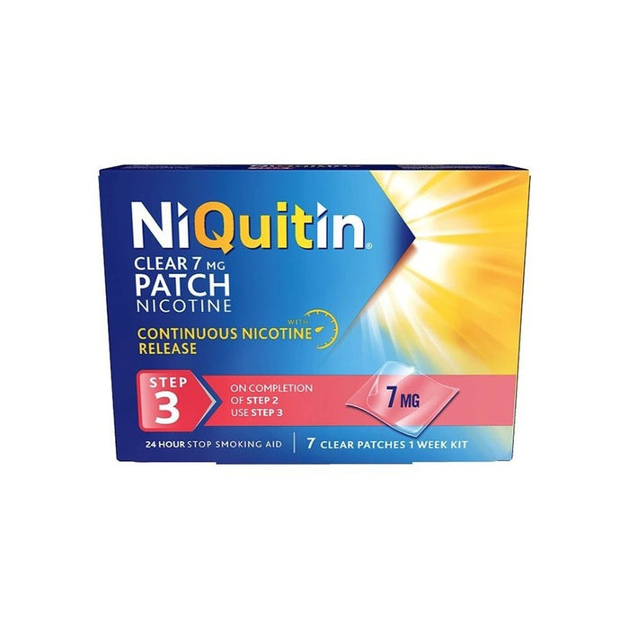 Niquitin Clear Patch 7mg 7 Day