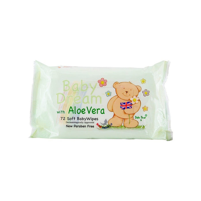 Baby Dream Wipes Aloe Vera