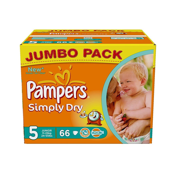 Pampers Simply Dry Junior 5