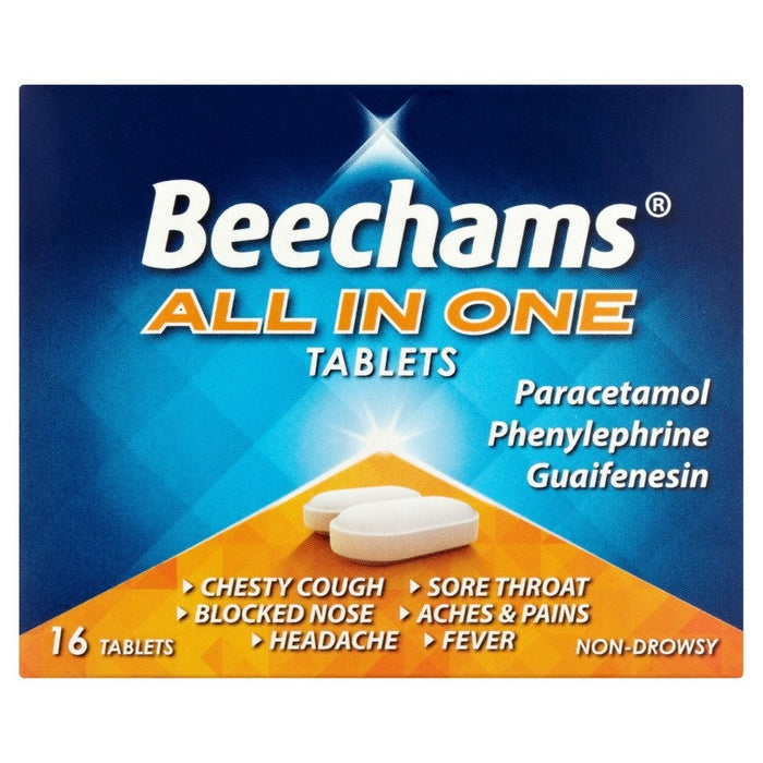 Beecham All In One Tablets 16'S