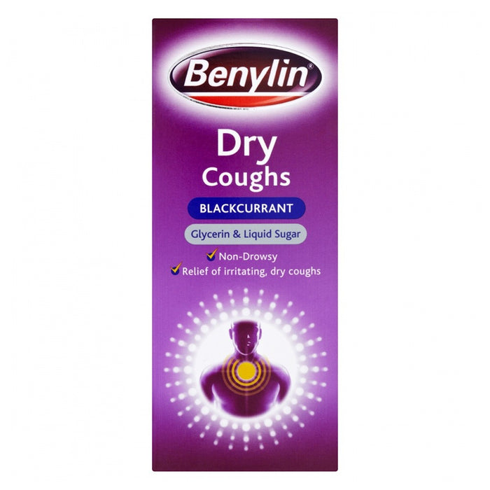 Benylin Dry Cough 150ml Blackcurrant