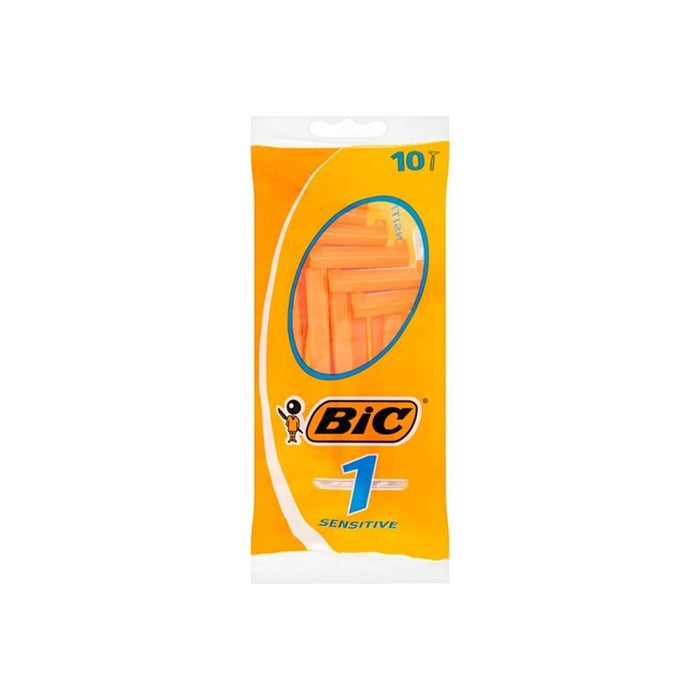 Bic 1 Razors 10'S Sensitive