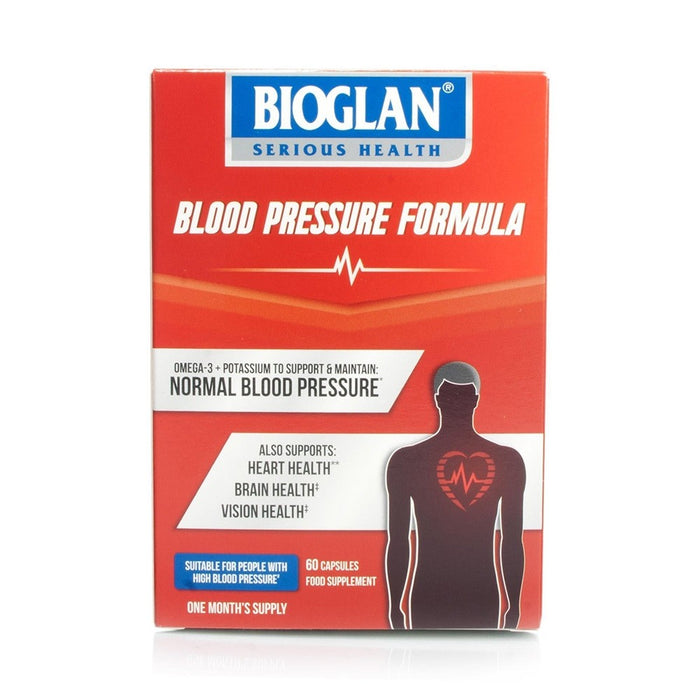 Bioglan High Blood Pressure Formula Caps 60'S