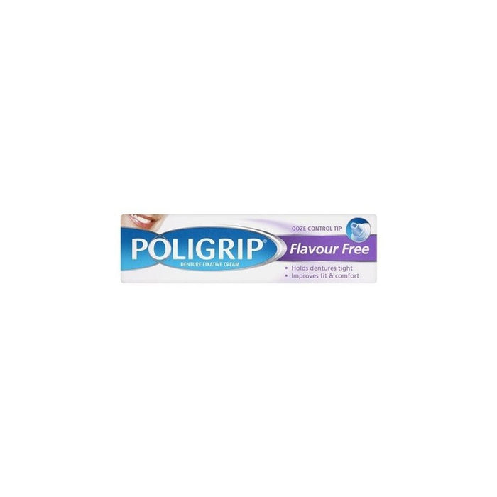 Poligrip 40gm Flavour Free