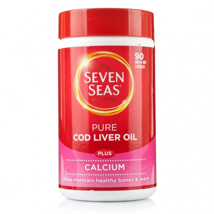 Seven Seas Cod Liver Oil Plus Calcium