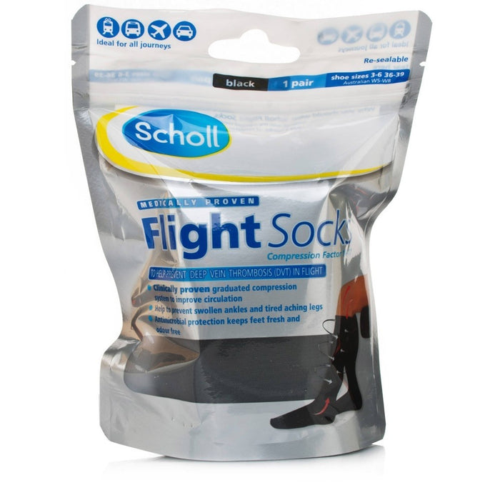 Scholl Flight Socks Cotton 3-6