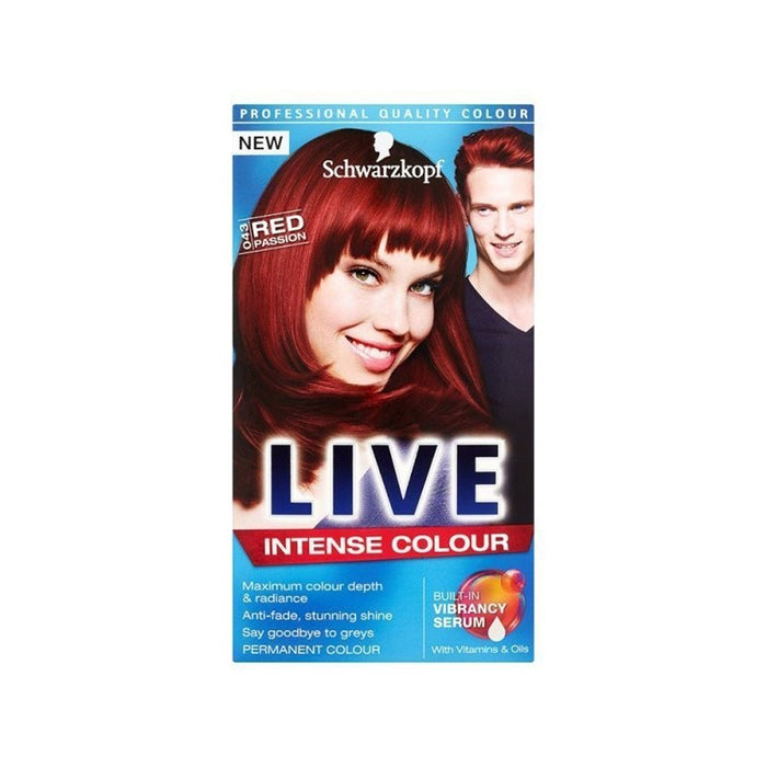 Schwarz Live Xxl Red Passion