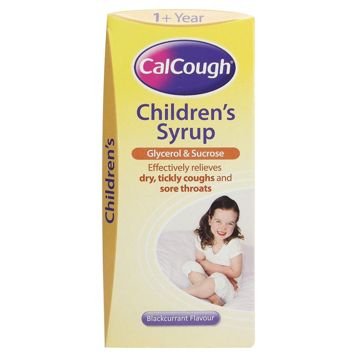 Calcough Soothing Blackcurrant 125ml