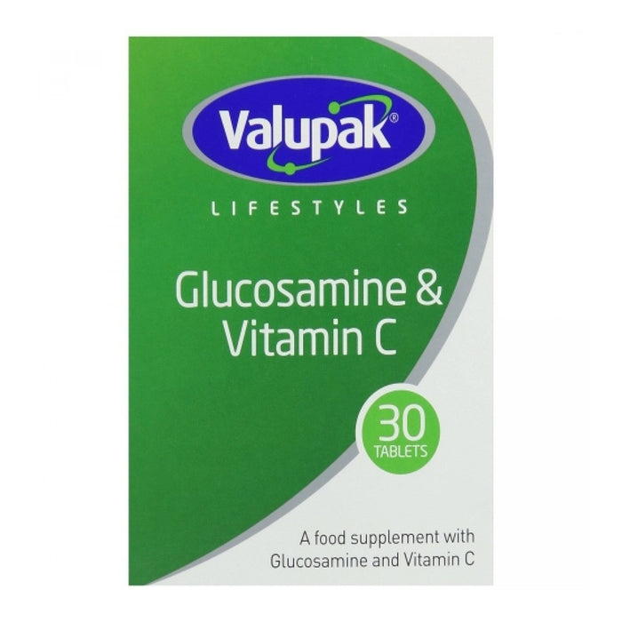 Valupak Glucosamine Tabs With Vit C