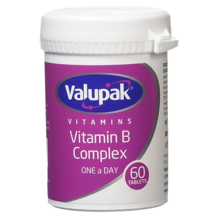 Valupak Vitamin B Complex Tabs