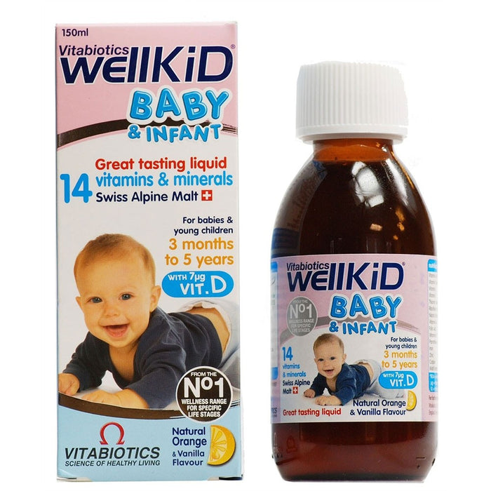 Wellkid Baby (Wellbaby) Syrup
