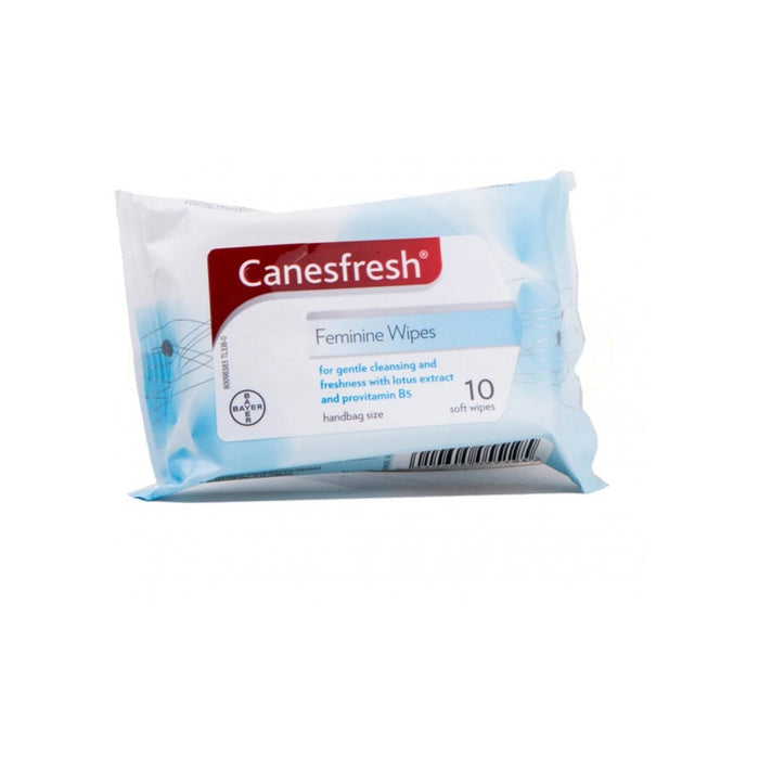 Canefresh Feminine Wipes 10'S