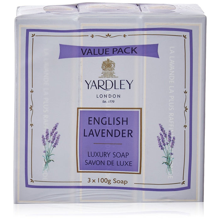 Yardley English Lavender Soap X 3