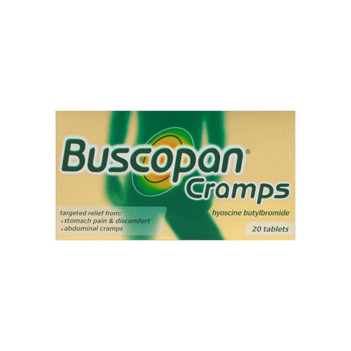 Buscopan Cramps Tablets 20'S