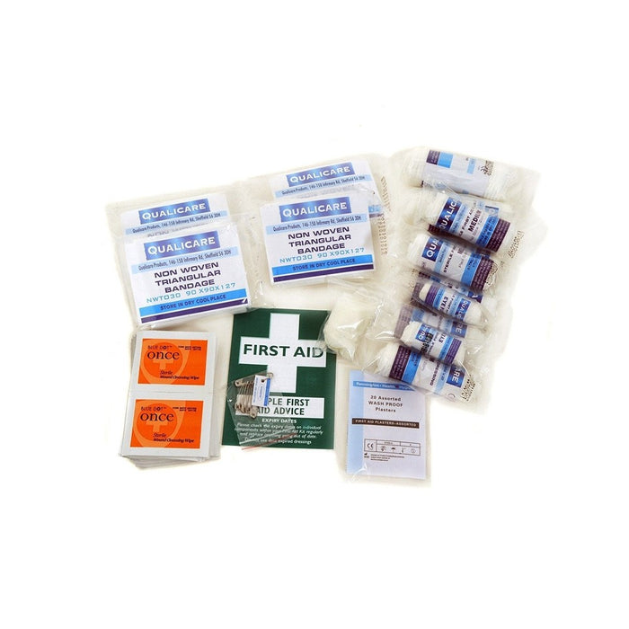 Qualicare First Aid Kit Hse Refill