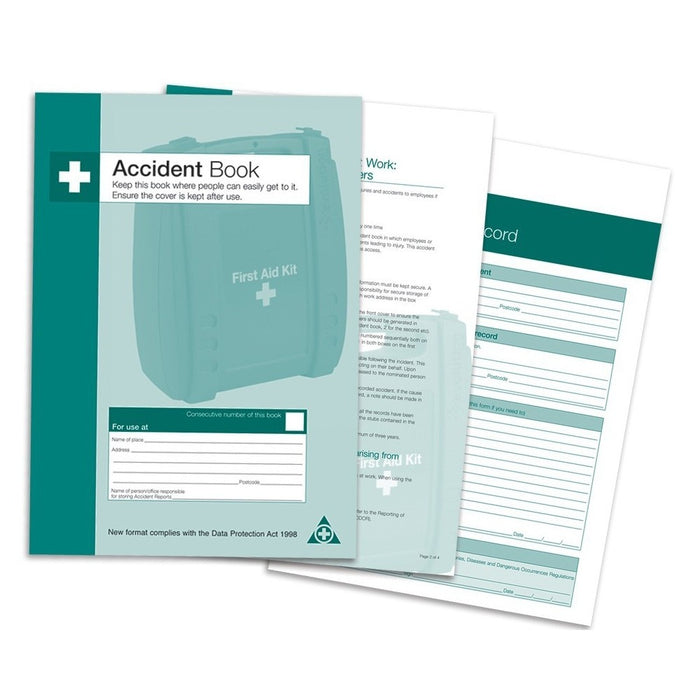 Qualicare Accident Record Book