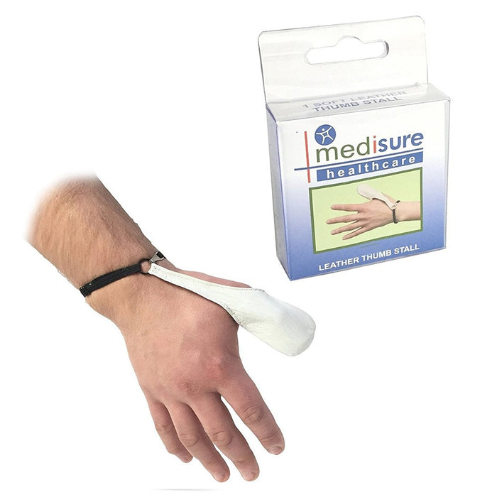Stall Thumb Leather