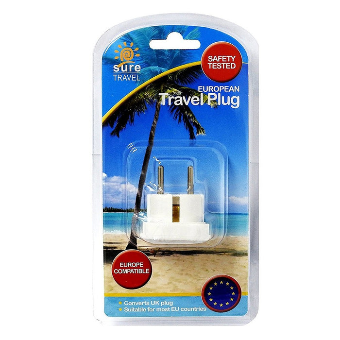 Sure Travel Euro Travel Adaptor