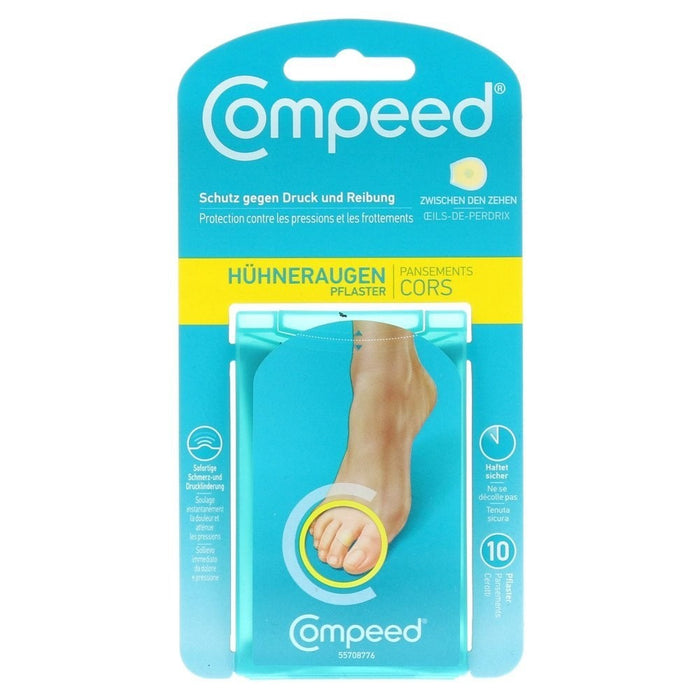 Compeed Corn Plasters Between Toes