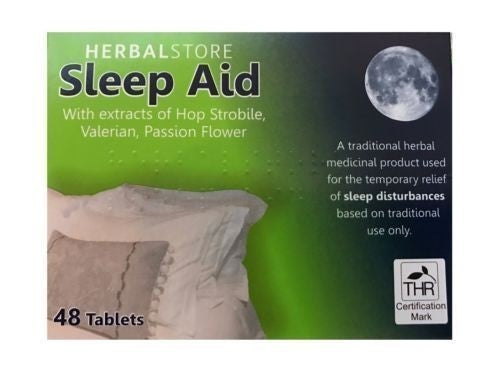 Herbal Store Sleep Aid Tablets 48pk