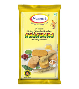 A2 Maniarrs Khakhara with 4 Flavors (360 gm, Pack Of 8)