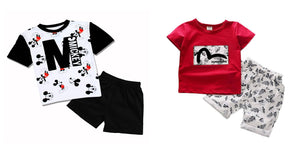Kid's Cotton Clothing Set Combo Of 2