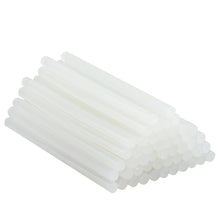 Load image into Gallery viewer, 483 Transparent HOT MELT Glue Sticks for DIY and Craft Work Big 10 mm 8 inch  (Set of 40)