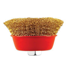 Load image into Gallery viewer, 194 Wire Wheel Cup Brush (Gold)