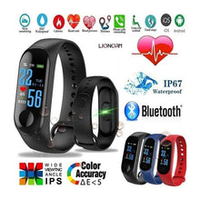 Load image into Gallery viewer, 322 M3 My Life Fitness Band (Black, Standard Size)