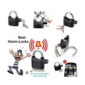 185 Anti Theft Security Pad Lock with Smart Alarm