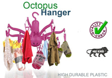 Load image into Gallery viewer, 229 -8-Claw Octopus Hanging Dryer 16 Clothes pegs, Simple to fold up and Put Away