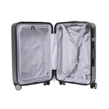 Load image into Gallery viewer, 708 Lombard Soft Side Cabin Luggage Black 20 Inch Trolley Bag