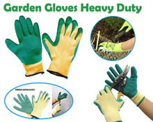 Load image into Gallery viewer, 719 Falcon Rubber Garden Gloves (Green & Yellow)