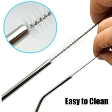 Load image into Gallery viewer, 578 Stainless Steel Straw Cleaning Brush Drinking Pipe, 23mm 1 pcs