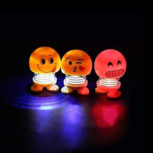 603 Emoticon Figure Smiling Lighting Face Spring Doll