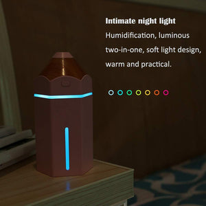363 Pencil humidifier,,night Light Gift Mini Desktop USB Home & Car Humidification