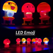 Load image into Gallery viewer, 603 Emoticon Figure Smiling Lighting Face Spring Doll