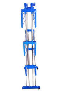 733 Stainless Steel Double Pole 3 Layer Cloth Drying Stand
