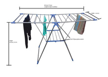 Load image into Gallery viewer, 731 Adjustable Stainless Steel 2-Wings Foldable Butterfly Cloth Drying Stand/Rack