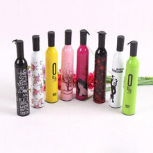 Load image into Gallery viewer, 518 Pocket Folding Wine Bottle Umbrella