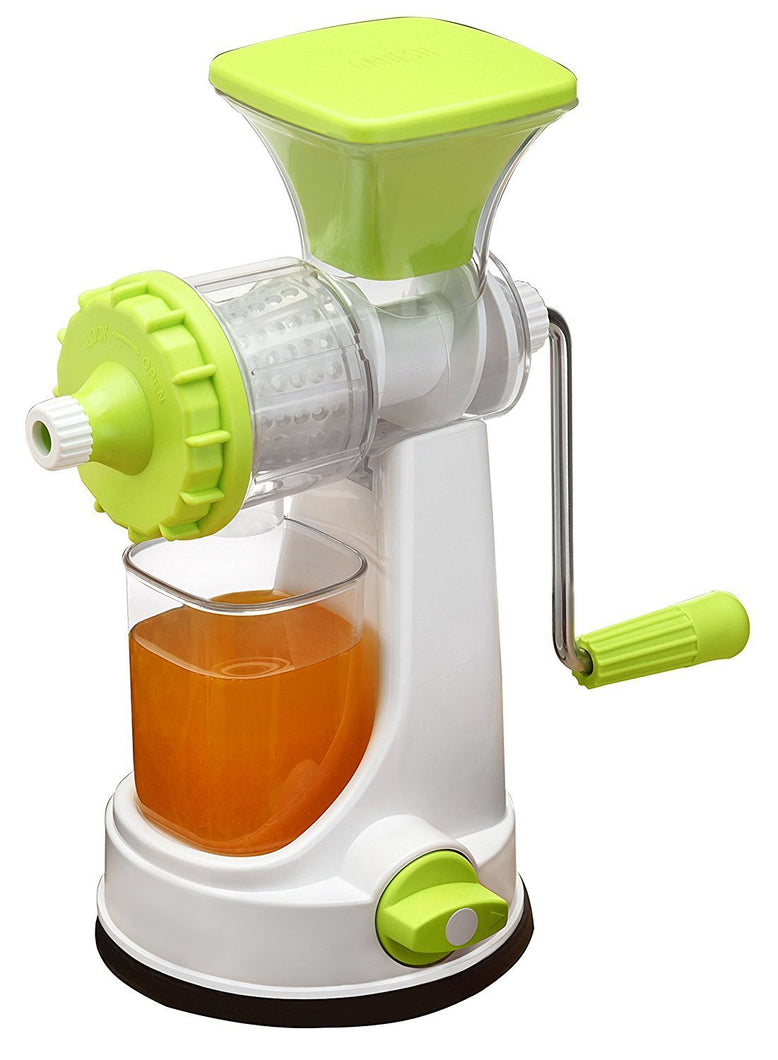 New Smart Plastic Multipurpose Manual Juicer (Green) Natural Juice Extractor