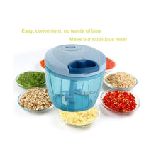 Load image into Gallery viewer, 101 Compact & Powerful Hand Held Vegetable Chopper (650 ml)