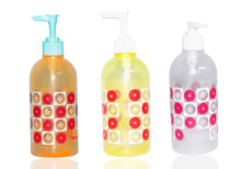 Load image into Gallery viewer, 208 Transparent, Refillable, Plastic, Multi-Purpose Lotion Pump Bottles (1pc)