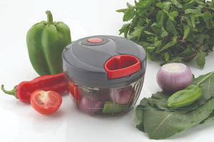0197 Manual 2 in 1 Compact & Powerful Hand Held Vegetable Chopper/Blender