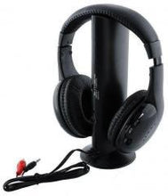 Load image into Gallery viewer, 624 Roaming Wireless Over-Ear Headphones (Black)