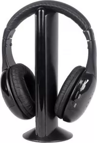 624 Roaming Wireless Over-Ear Headphones (Black)