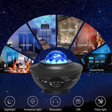 Load image into Gallery viewer, Galaxy Projector™ Night Sky Bluetooth Light Projector